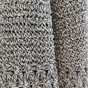 Bags - Vintage Straw Crossbody Purse
